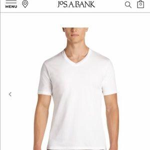 Jos. A. Bank Three Men's V-Shirts size L (42-44)